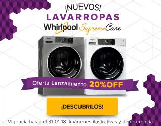 lavarropas supreme care mobile