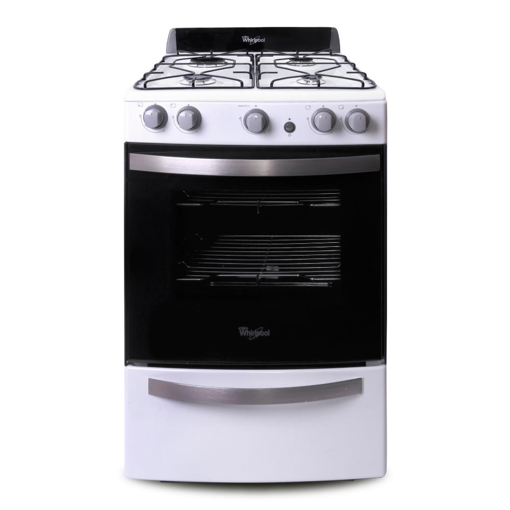 cocina whirlpool wfb56db cocina whirlpool 55 cm blanca wfb56db compra cierta